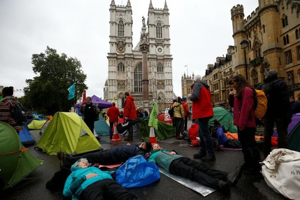 Bijna 300 arrestaties bij klimaatprotest in Londen