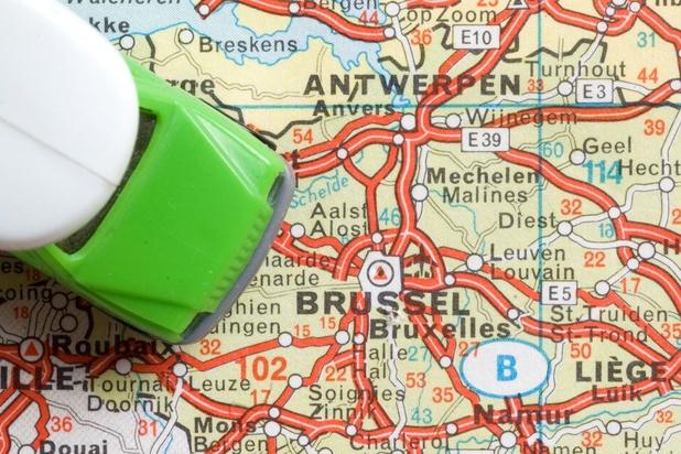 Un nombre record de Bruxellois vont travailler en Flandre
