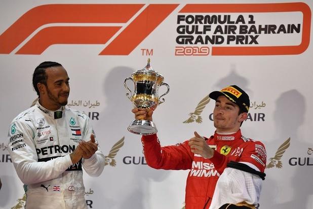 Malchanceux, Leclerc laisse sa couronne à Hamilton