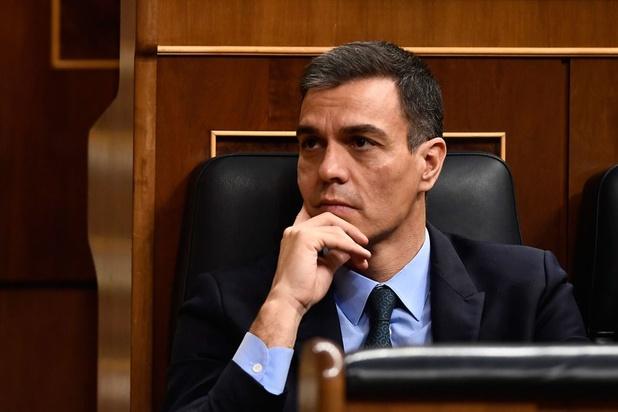 Sanchez verliest eerste vertrouwensstemming in Spaans parlement