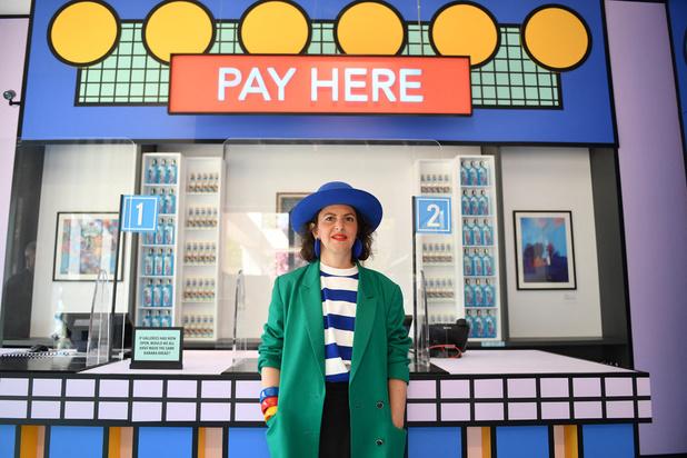 """Londres: le Design Museum se transforme en """"supermarché éphémère"""""""