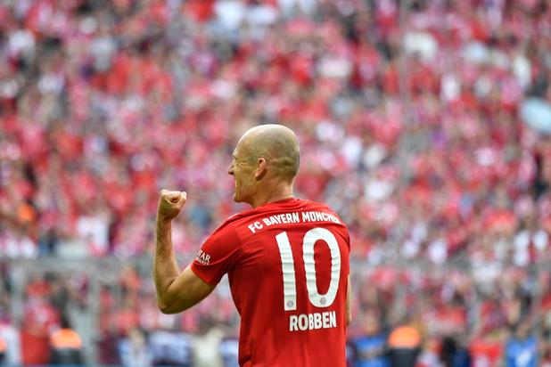 """La dernière danse de Robben, """"le joueur de cristal"""""""