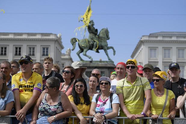 Tour de France : 100.000 spectateurs dans le centre de Bruxelles