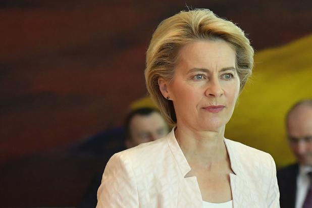 Ursula von der Leyen n'a convaincu qu'une minorité des eurodéputés belges