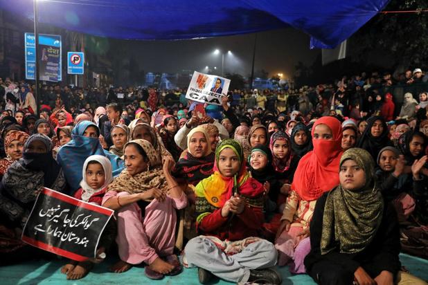 Protesten rond burgerschapswet India houden aan