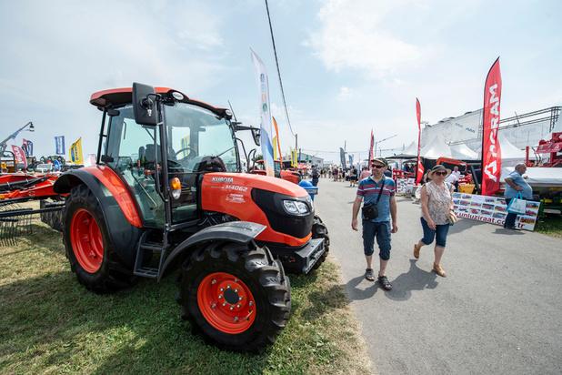 Chaleur, bois local, Mercosur et bail à ferme émaillent l'inauguration de Libramont