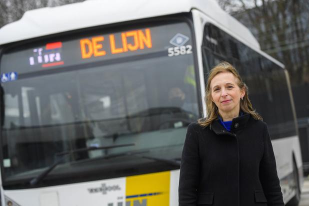 Ann Schoubs (CEO De Lijn): 'Zonder performant openbaar vervoer laat niemand zijn auto staan' (video)