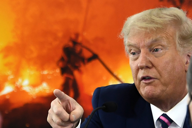 """Trump sur le climat: """"Ça finira par se refroidir"""""""