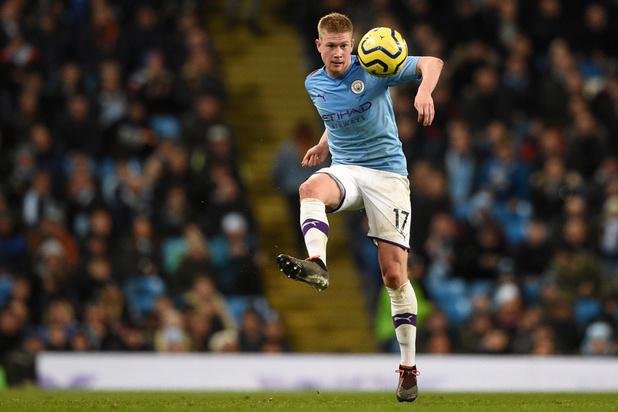 Manchester City, avec un assist de De Bruyne, bat Leicester (3-1)