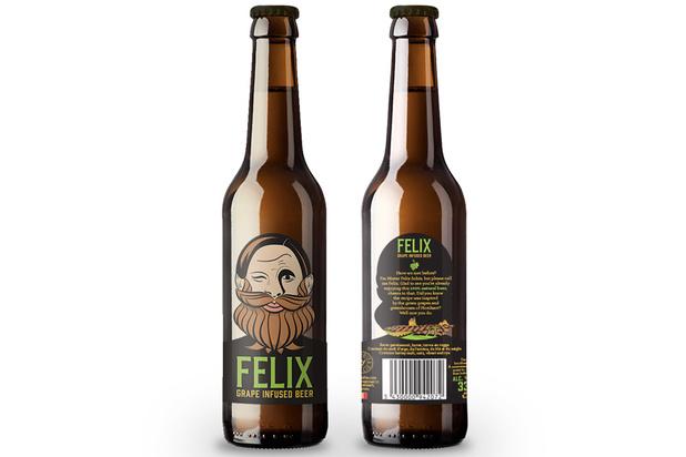 Une nouvelle bière belge à base de muscat blanc