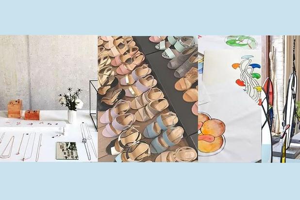 Stocksale Belgische modeaccessoires en kunst