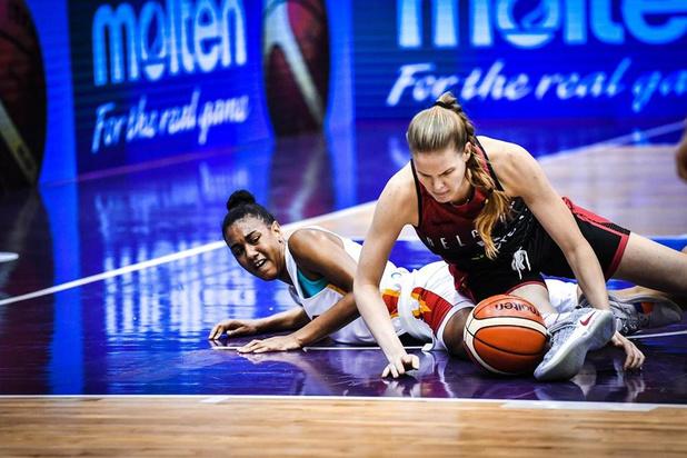 Geen medaille op WK Basket voor de Young Belgian Cats