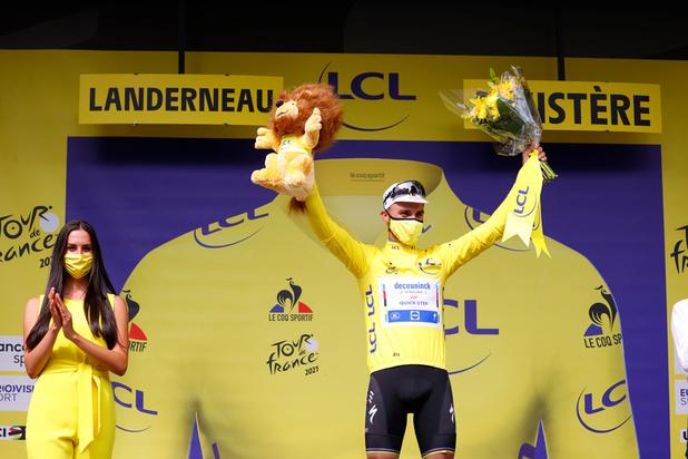 Tour de France: Julian Alaphilippe remporte la première étape et retrouve le maillot jaune