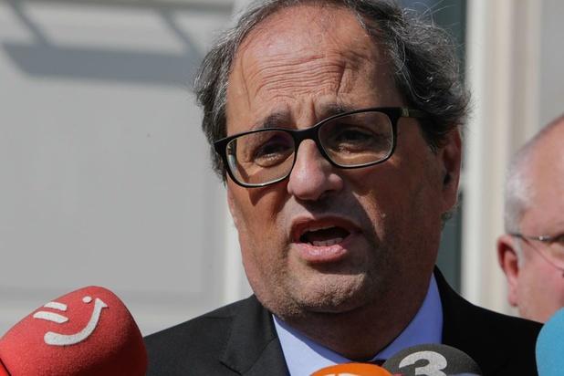 Le président catalan fait appel de sa destitution