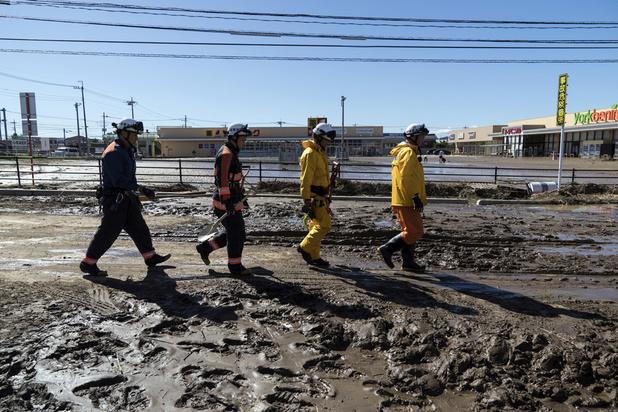Au moins 26 morts au Japon, 110.000 secouristes mobilisés après le passage du typhon Hagibis