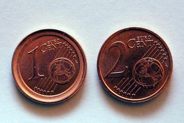 La disparition progressive des pièces de 1 et 2 centimes a commencé
