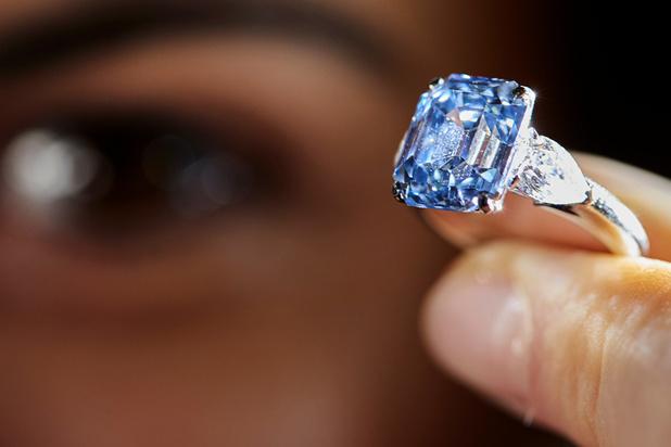 Découverte exceptionnelle de cinq diamants bleus en Afrique du Sud