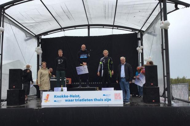 Nederlanders zwaaien de plak in halve triatlon van Knokke-Heist