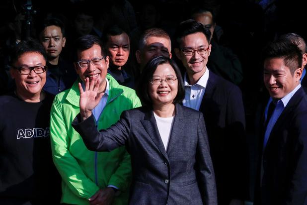 Presidentsverkiezingen Taiwan: zittend staatshoofd behaalt overwinning