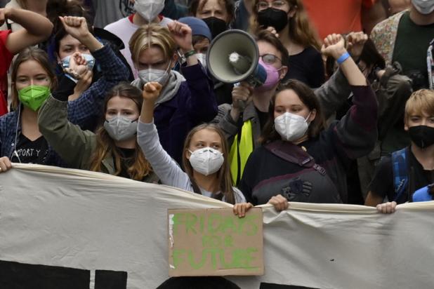 Greta Thunberg à Berlin avant les législatives