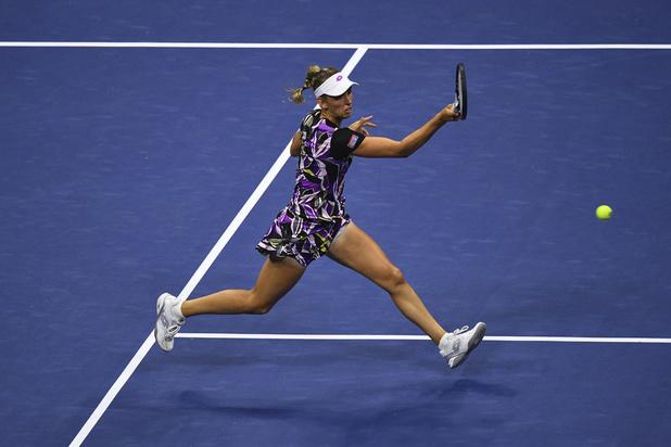 US Open : Le beau parcours en simple d'Elise Mertens a pris fin en quarts de finale