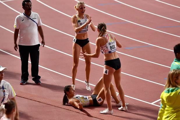Mondiaux d'athlétisme: Les Belgian Cheetahs qualifiées pour la finale et les JO avec un record de Belgique
