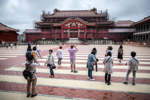 Japon: le château de Shuri, classé au Patrimoine mondial, ravagé par les flammes (en images)