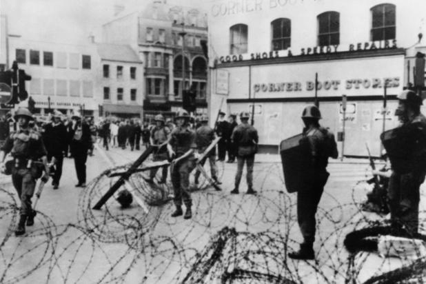 Il y a 50 ans, l'armée britannique intervient en Irlande du Nord