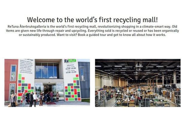 """En Suède, la """"seconde main"""" trouve son premier centre commercial"""