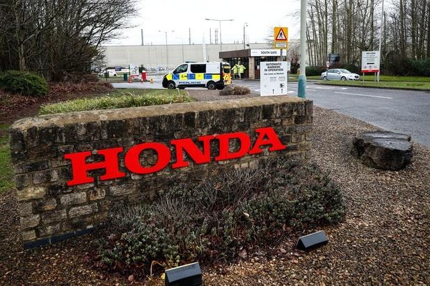 Honda stopt productie in Engelse fabriek na bevoorradingsproblemen door brexit