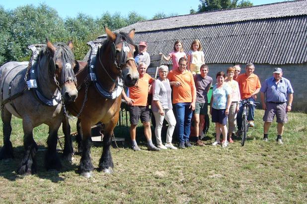 Boerenpaarden en tractoren centraal op hoevefeesten in Waregem