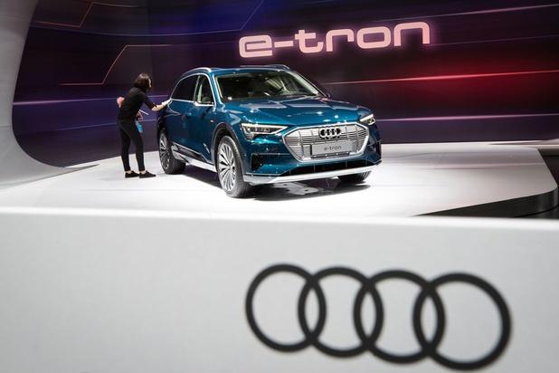 Elektrische auto Audi kan in brand vliegen