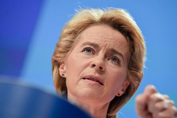 Ursula von der Leyen stelt ambitieus werkprogramma van nieuwe Europese Commissie voor