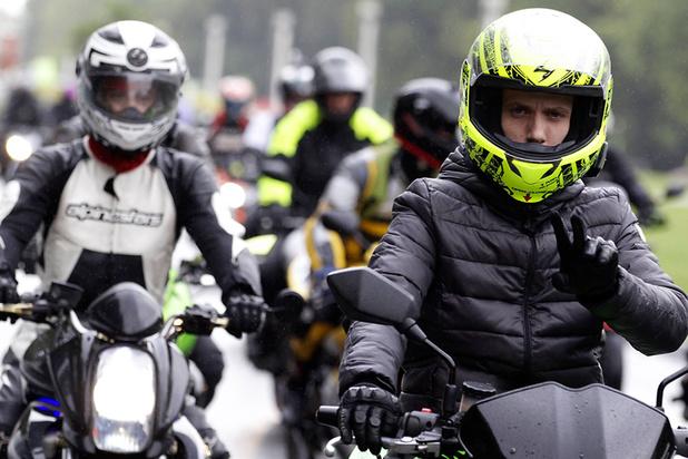 Motorrijders onzichtbaar voor 'gedraaide' flitscamera's