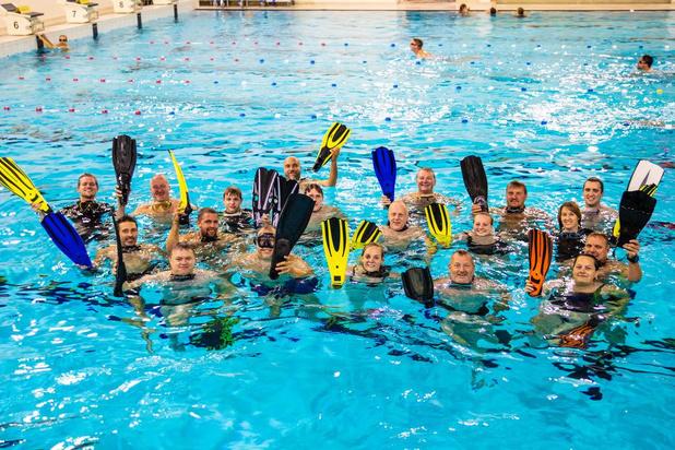 """Vichtse duikclub maakt de borst nat voor jubileumjaar: """"Iedere duik is een overwinning"""""""