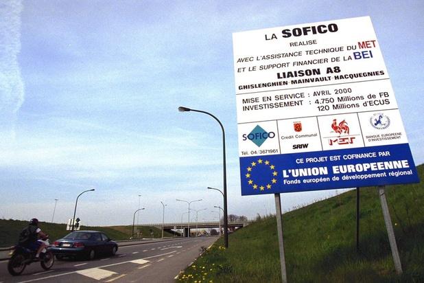 La Sofico, gestionnaire du réseau routier wallon, est dans le rouge