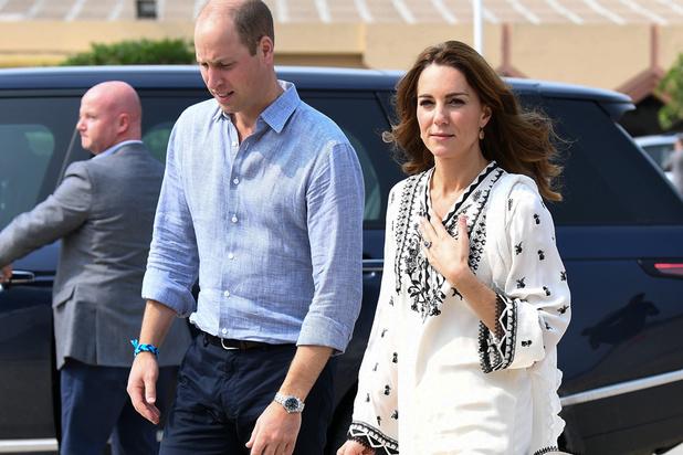 Le prince William et Kate essuient une violente tempête en plein vol