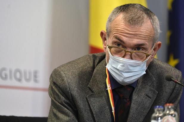 Frank Vandenbroucke inquiet du relâchement du télétravail