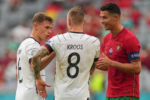 Duitsland klopt titelverdediger Portugal