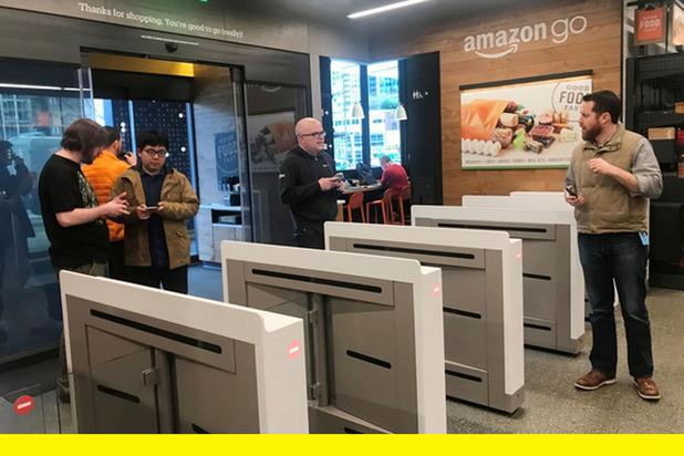 On a testé le magasin sans caisse d'Amazon