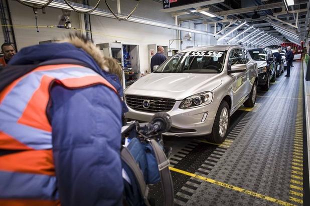 Volvo rappelle un demi million de voitures pour risque d'incendie
