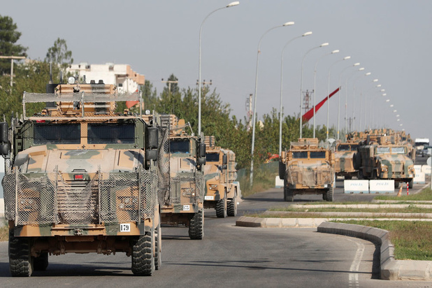 'Vijf jihadisten ontsnapt na Turkse raids in Syrië'