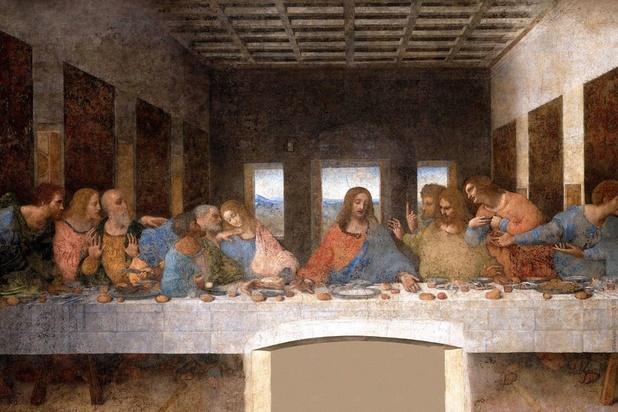 Léonard de Vinci a-t-il peint La Cène de l'abbaye de Tongerlo?