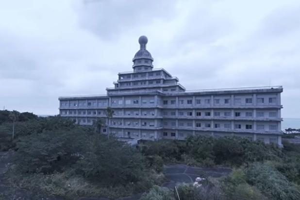 Urbex: un hôtel de luxe abandonné sur une île japonaise (vidéo)