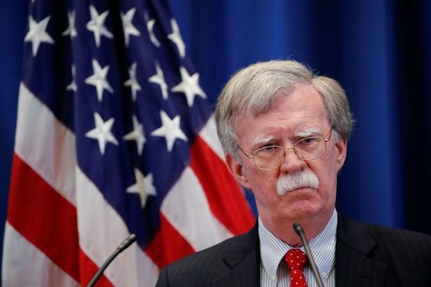 Regering-Trump klaagt gewezen veiligheidsadviseur Bolton aan om publicatie van boek te blokkeren
