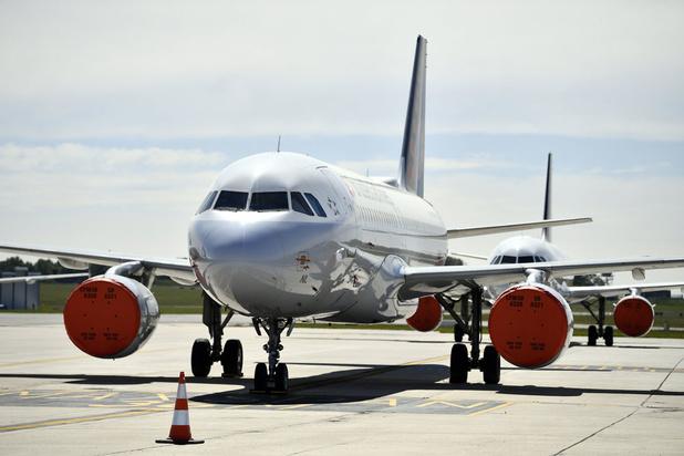 Brussels Airlines houdt extra vliegtuigen langer aan de grond