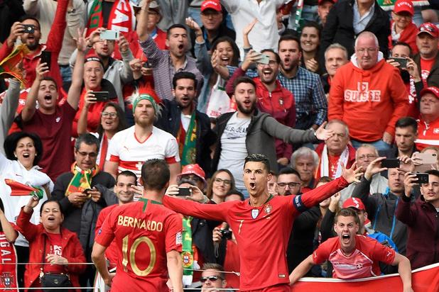 Ronaldo plante un triplé contre la Suisse et envoie le Portugal en finale (vidéo)
