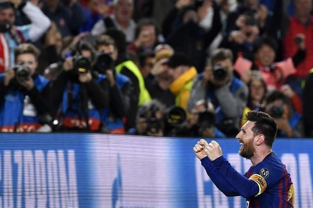 De 600e van Lionel Messi: een magistrale vrije trap (video)