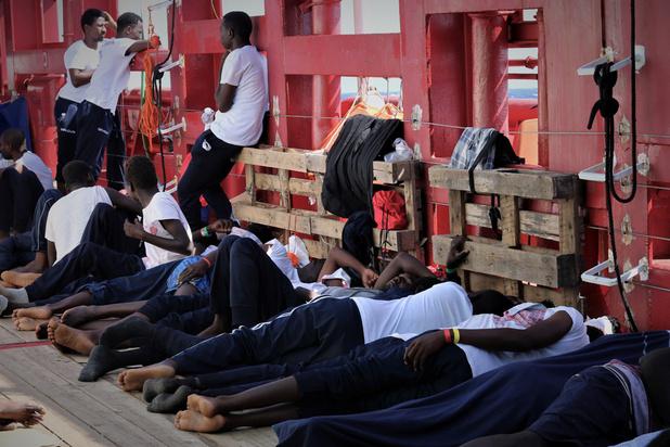 Oplossing voor Ocean Viking: migranten worden verspreid over zes EU-landen