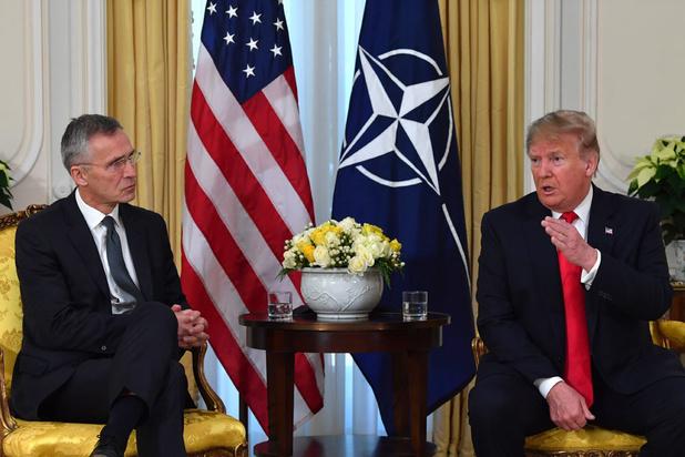 Trump reageert op Macron: 'Uitspraken over hersendode NAVO waren beledigend en gevaarlijk'